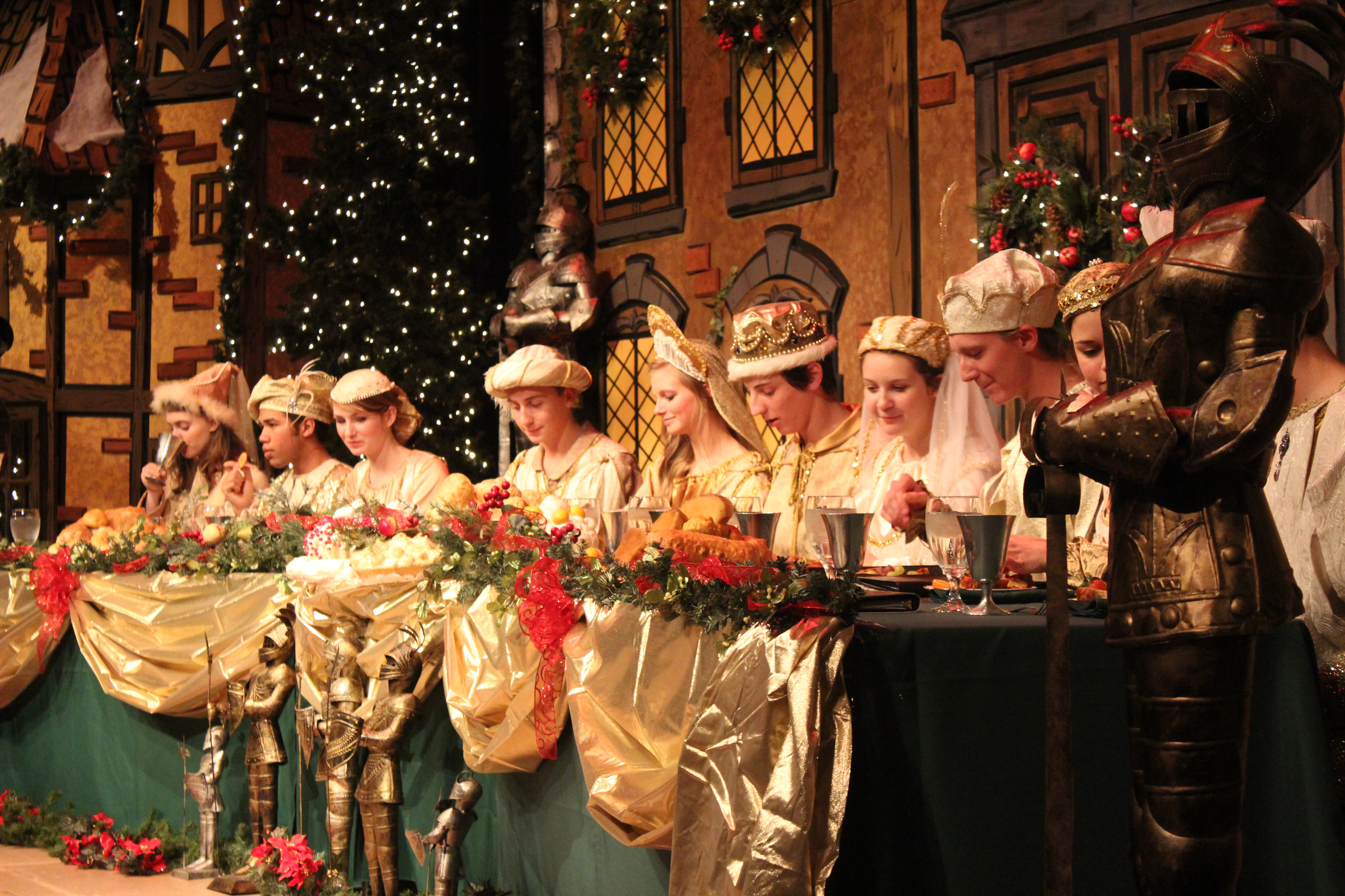 Choral And Theater Departments Put On Annual Madrigal