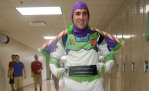 Senior Blake Stewart dresses as Buzz Light-year. Photo by Chase Palmer.