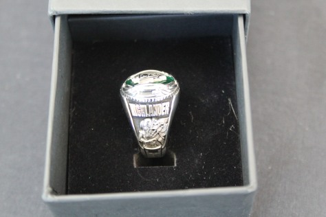 The right side Bethany Arteburn's class ring.