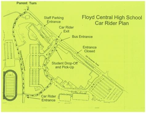 Parking Plan Map