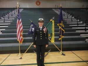 Senior Mandy Dunlap
