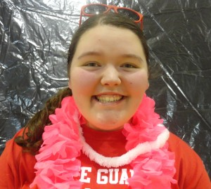 """I raised $2,090 by using several events to my advantage, including a golf scramble, worked concessions at HHMS, setup buckets throughout the county, and much more,"" said junior Erin Bertram."