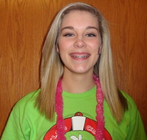 """I raised $60 by participating in Team Raiser and putting the link on Facebook,"" said sophomore Breanna Dye."