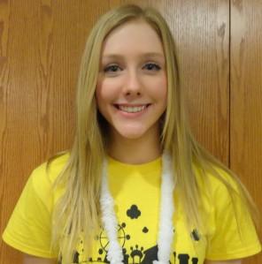"""I worked and raised $50 by myself,"" said freshman Emma Love."