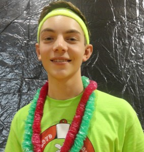 """I raised $320 by asking all of my family members and chipping in some of my own money,"" said sophomore Reed Plunkett"