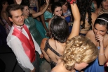 The dance floor remains crowded as students dance. Photo by Alaina King.