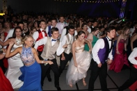 "Students do the ""Cupid Shuffle"" on the dance floor. Photo by Alaina King."