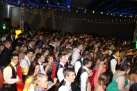 "The crowd at prom continues to do the ""Cupid Shuffle"". Photo by Alaina King."