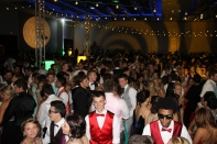 Students dance as prom comes to an end. Photo by Alaina King.