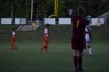 Senior Jack Parker gives instruction to his teammates.