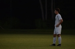 Senior Alex Gillespie waits to put the ball into play.