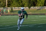 Senior Kyle Peters rushes the ball.