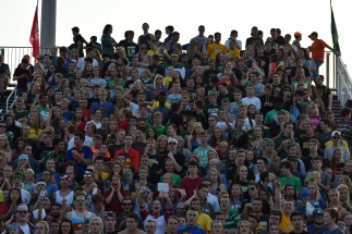 The FC student section fills the stands.