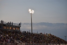 Ron Weigleb Stadium is filled up for the game against Providence.