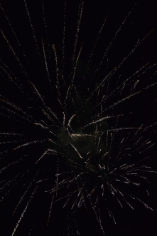 Fireworks go off after FC beats Providence 31-0.