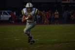 Sophomore Matt Weimer runs the ball up field.