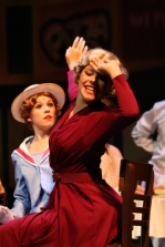 "Junior Brooklyn Ivey, a key dancer in 42nd Street, performs ""Go Into Your Dance."""