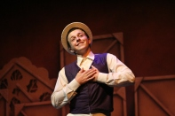 Senior Henry Miller portrays Billy Lawlor, the leading tenor in Pretty Lady.