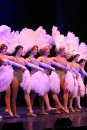 "A group of dancers performs ""Dames."" ""The marquees and costuming were particularly difficult in 42nd street, but in the end it looks great on stage,"" said Barnett."