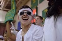 Senior Sam Yothers laughs at his fellow students.