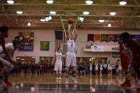Senior Garrett Mehling shoots a free throw.