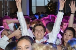 Senior Ruben Freibert shows true excitement for prom. Photo by Sarah Strain.
