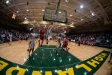 Junior Brendon Hobson jumps for a shot.