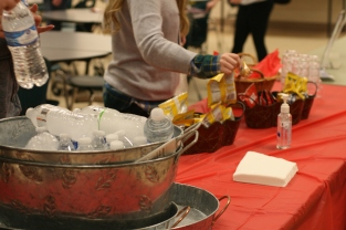 Poe provided snacks for all who attended the meeting.
