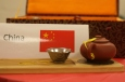 Poe was given a terracotta tea set in China because tea is an important part of their culture.