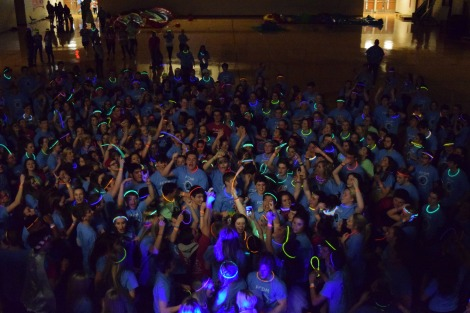 During a breakout session FCDM hosts a rave for all the FCDM dancers. Photo by Kiley Swain.