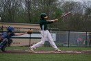 Senior Jon Cato swings at a strike.