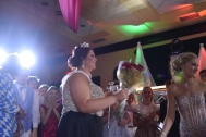 Senior Avery Wohlleb is crowned 2017 prom queen. Photo by Kiley Swain.
