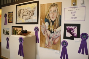 Freshman Fiona Grannan is the only FC Student to win best in show.
