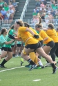 Junior Kate Meldrum sprints after the ball. Photo by Taylor Watt.