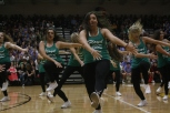 Senior Taylor Elliott performs with the Dazzlers.