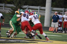 FC's defensive line successfully blocks against BNL.