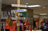 Students prepare for FCDM. The actual Dance Marathon lasts seven hours.