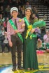 Seniors Kaden Breger and Cassie Thomerson stand together as they pose for photos by family and friends. Photo by Grace Allen.