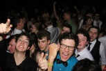 As Prom continues, FC students go wild in the crowd and dance into the night. Photo by Chloe Love.