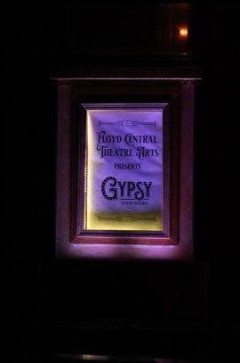 FC's Gypsy closed a week early due to COVID-19. This is a promotional poster for the show. Photo by Presley Vanover.